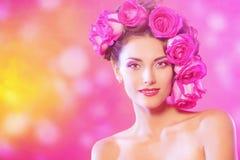 Sogno rosa Fotografie Stock Libere da Diritti