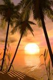 Sogno tropicale Fotografia Stock Libera da Diritti