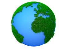 Sogno verde del pianeta Fotografie Stock Libere da Diritti