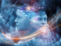 Sogno virtuale Fotografia Stock