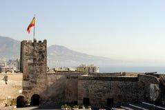 Sohail Castle Fuengirola Stock Image