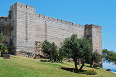 Sohail Castle, Fuengirola. Stock Photography
