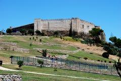 Sohail Castle, Fuengirola. Royalty Free Stock Photos