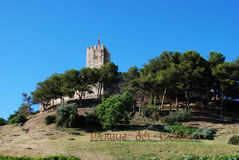 Sohail Castle, Fuengirola. Royalty Free Stock Photo