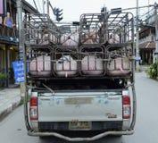 SOHN PAI ASIENS THAILAND MAE HONG Stockbilder