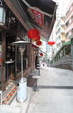SoHo area in Hong Kong Stock Photography