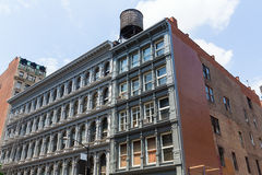 Soho building facades in Manhattan New York City Royalty Free Stock Images