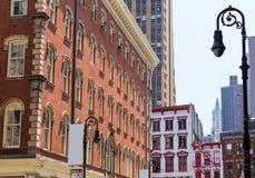 Soho building facades in Manhattan New York City Stock Images