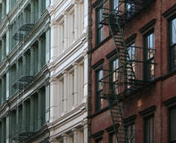 Soho Buildings. A group of buildings in Soho, New York City Royalty Free Stock Photo