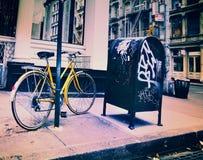 Soho, cena da rua de New York Fotos de Stock Royalty Free