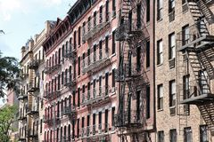 SoHo, de Stad van New York Stock Afbeelding