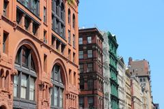 Soho, New York Photographie stock libre de droits
