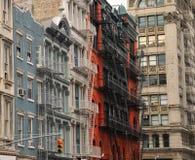 Soho Nueva York. Configuración típica Fotos de archivo libres de regalías
