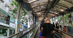 Soho poziomów eskalator zbiory