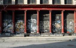 soho street Fotografia Royalty Free
