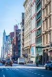SOHO zakupy okręg w Miasto Nowy Jork Fotografia Stock
