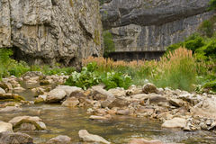 Sohodol river scene royalty free stock image