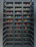 Sohoen: Den Tokyo designen ?r ?verl?gsen arkivfoton
