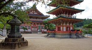 Sohozo pavilion of  Kosanji Temple in Japan Stock Photos
