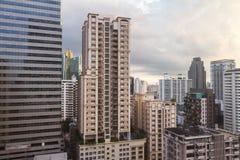 Soi Asoke Building, Bangkok Thailand Stock Image