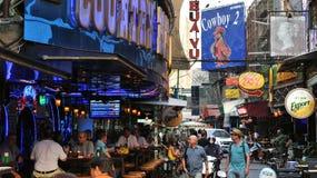 Soi Cowboy em Banguecoque Imagem de Stock