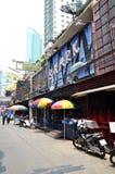 Soi Cowboy entertainment bazaar in Bangkok Stock Images