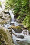 Soi dao waterfall in Thailand Royalty Free Stock Photos