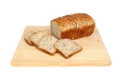 Soia e pane ai semi di lino Immagine Stock