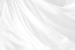 Soie blanche Photos libres de droits