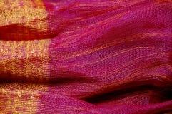 soie d'écharpe thaïe Image libre de droits