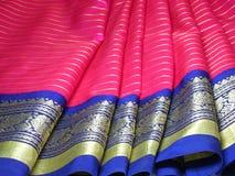 soie de sari Photo libre de droits