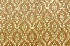 Soie de tissu d'or Photographie stock libre de droits