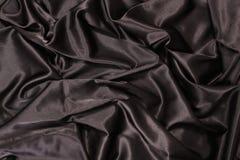 Soie noire Photos stock
