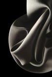 Soie noire Image stock