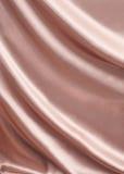 Soie rose drapée pour le fond de luxe Photographie stock