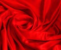 Soie rouge élégante lisse photos stock