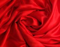 Soie rouge ?l?gante lisse photographie stock libre de droits