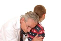 Soignez avec le patient 4 Image stock