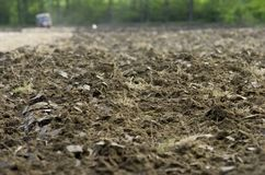 Soil. The soil in the polish country Stock Images
