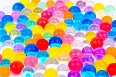 The soil of the colored balls Stock Images