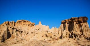 Soil column.Si Nan National Park.Nan north of  Thailand. Stock Photos