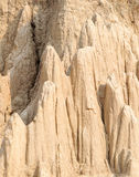 Soil columns Royalty Free Stock Photos