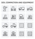 Soil Compaction Icon Royalty Free Stock Image