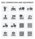 Soil Compaction Icon Royalty Free Stock Images