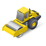 Soil compactor icon Royalty Free Stock Photo