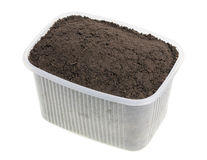 Soil compost  for landing Royalty Free Stock Image