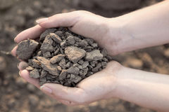 Soil that could give us life Royalty Free Stock Photography