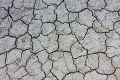Soil Cracked arid pattern for background. Royalty Free Stock Photos