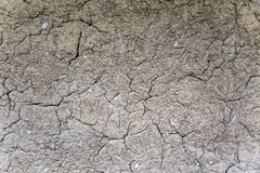 Soil cracks Stock Photos