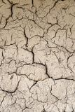 Soil cracks Royalty Free Stock Photo